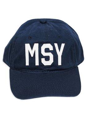 MSY Navy Baseball Cap