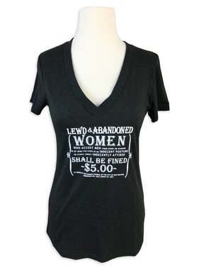 Lewd & Abandoned Women Tee