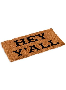 Hey Y'all Door Mat