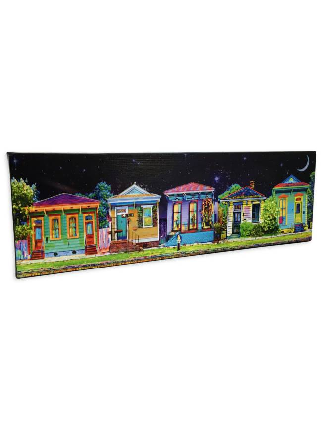 Nola Scenes Wall Art, Nighttime in NOLA