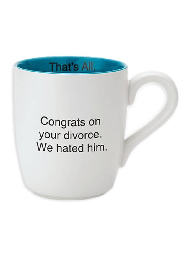 We Hated Him Divorce Mug