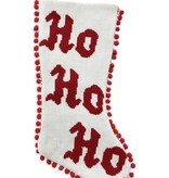 Ho Ho Ho Christmas Stocking