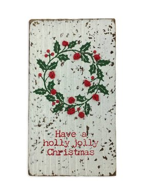 Holly Jolly Christmas Magnet