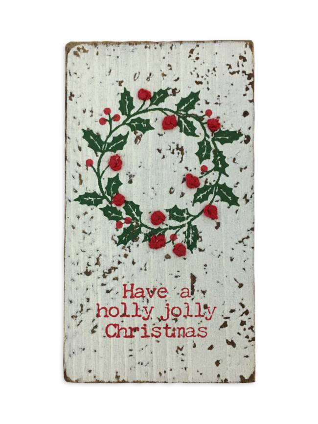 Holly Jolly Christmas.Holly Jolly Christmas Magnet