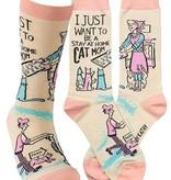 Primitives by Kathy Cat Mom Socks