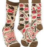 Primitives by Kathy Wonderful World Socks