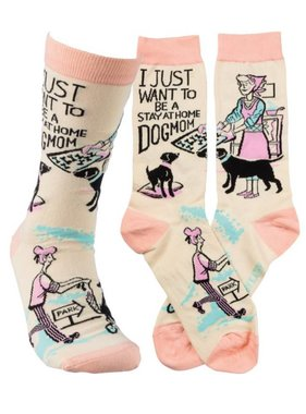 Primitives by Kathy Dog Mom Socks