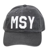 MSY Baseball Hat, Charcoal