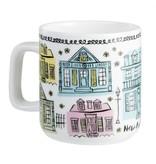 Creole Cottages Coffee Mug
