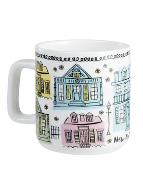 Creole Cottages Coffee Mug