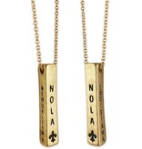 NOLA Bar Necklace in Gold