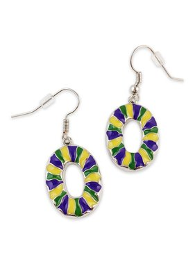 King Cake Earrings