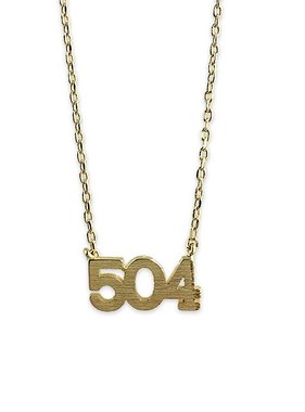 504 Necklace, Gold