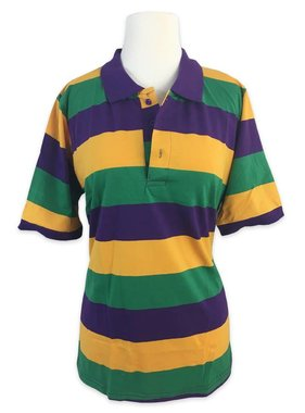 Mardi Gras Polo Shirt