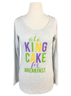 Ate King Cake For Breakfast Tee