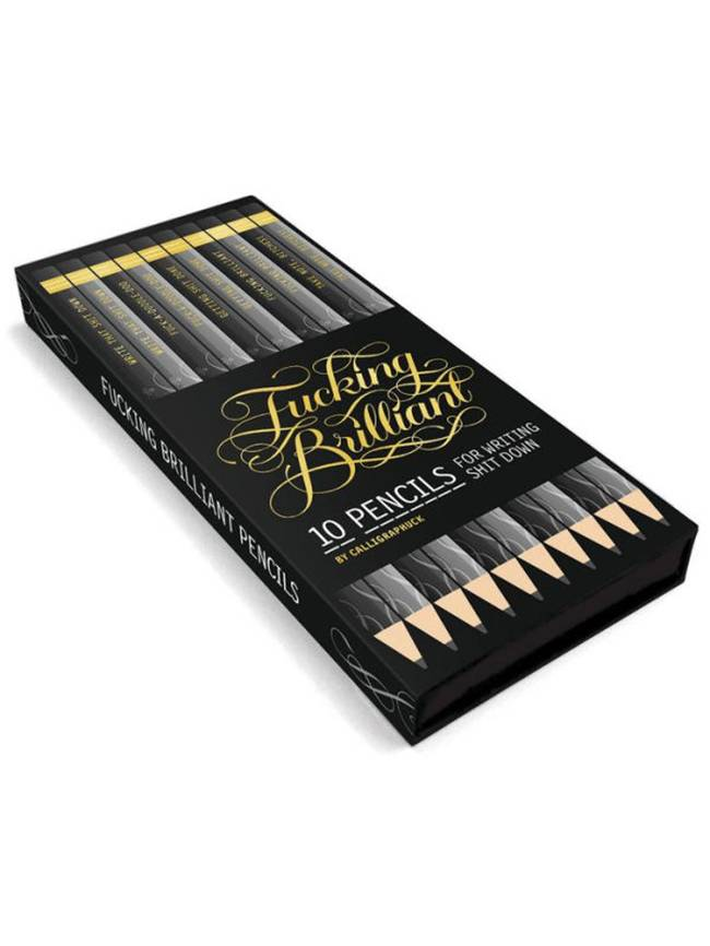 F*cking Brilliant Pencil Set