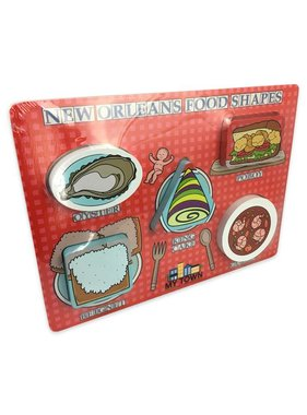 New Orleans Food Shapes Puzzle