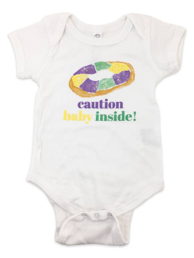 Caution Baby Inside Onesie