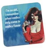 Vodka Flavor Cork Coaster