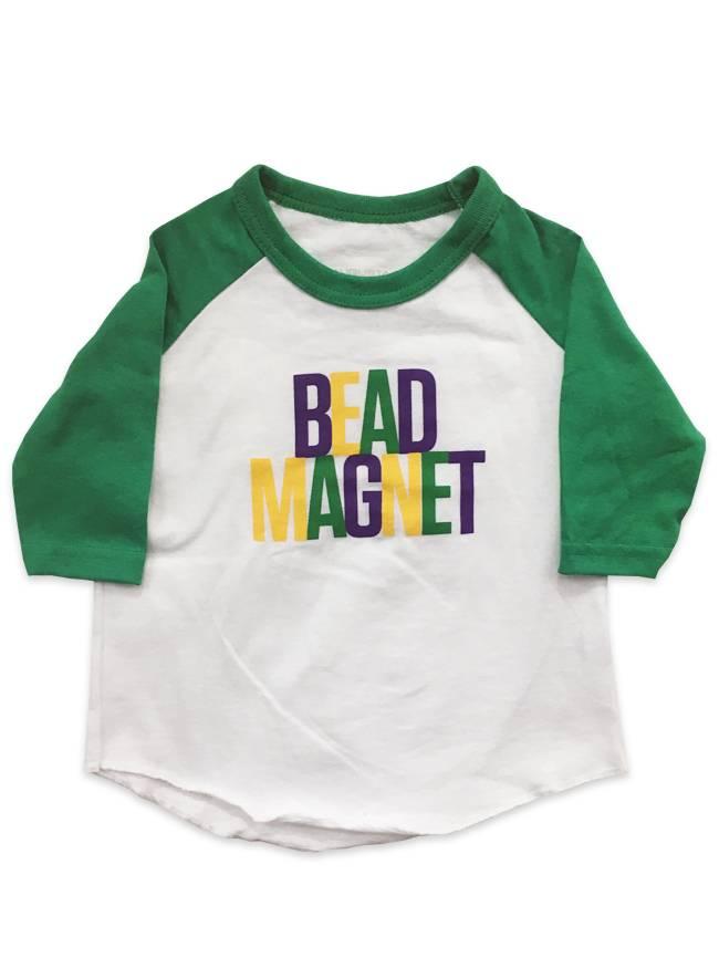 Bead Magnet Baseball Tee for Kids