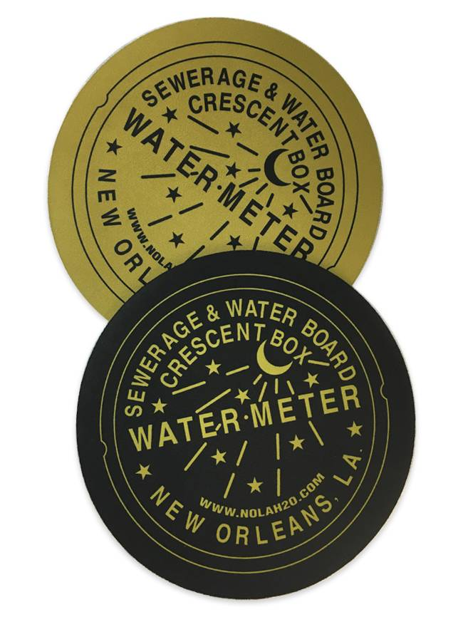 New Orleans Water Meter Mousepad