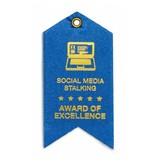 Social Media Stalking Award Magnet