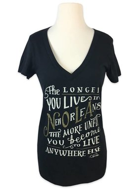 The Longer You Live Tee