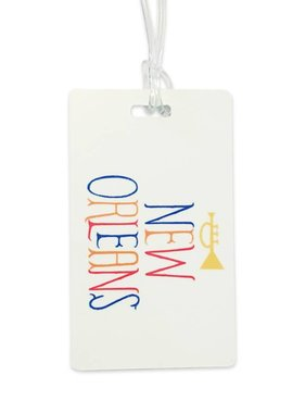 New Orleans Trumpet Luggage Tag