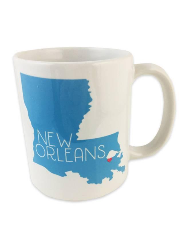 Louisiana Love Mug