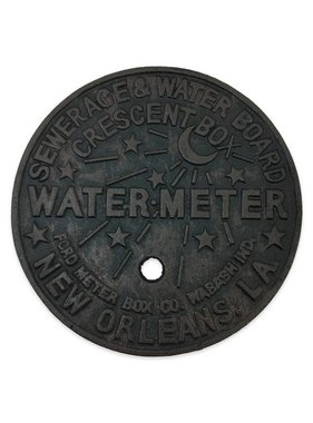 Cast Iron New Orleans Water Meter Trivet
