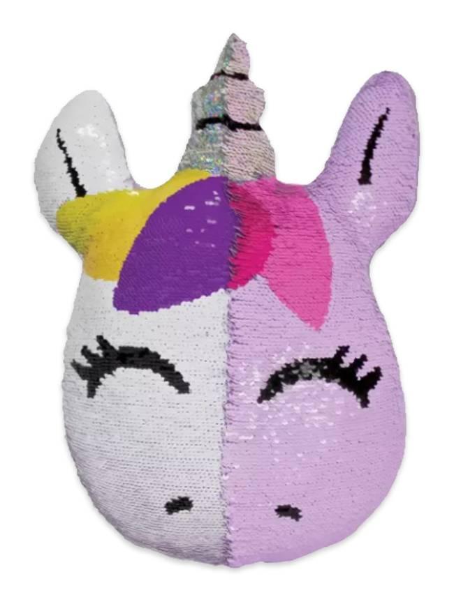 Unicorn Reversible Sequin Pillow