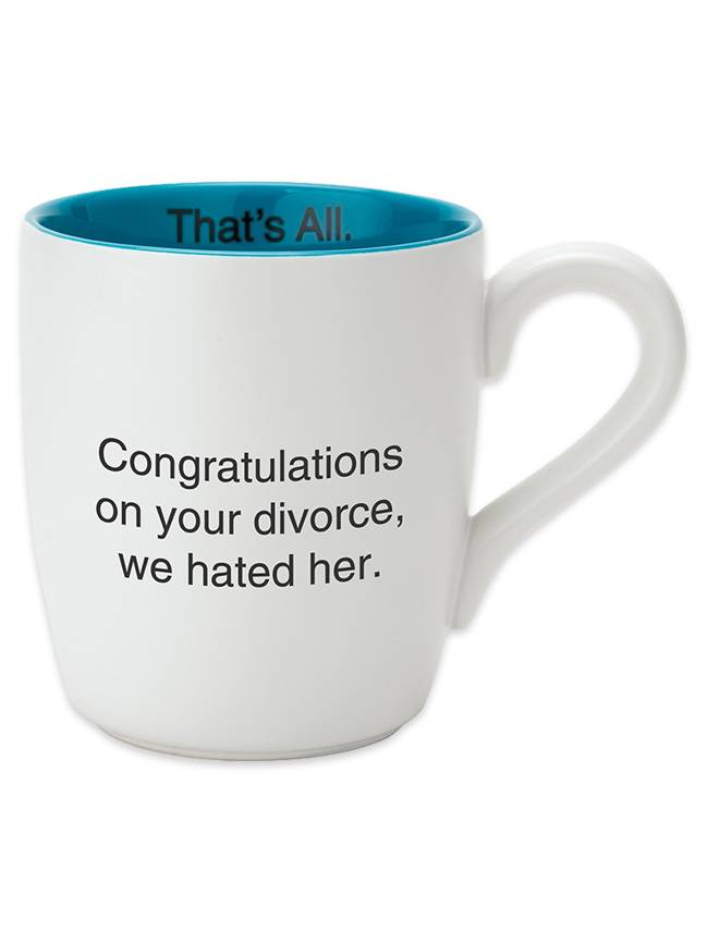 We Hated Her Coffee Mug