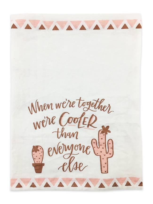 Primitives by Kathy Together We're Cooler Towel