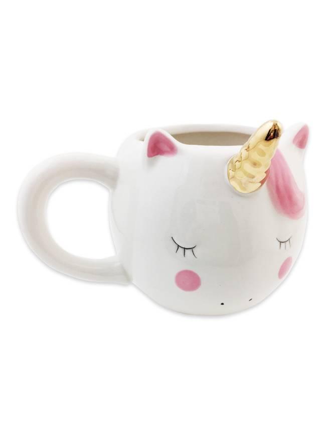 Fleurty Girl Unicorn Coffee Mug