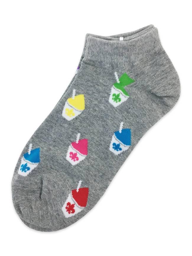 Fleur de Lis Snoball Ankle Socks