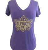 Fleurty Girl Logo Tee