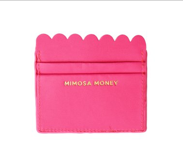 Mimosa Money Card Holder