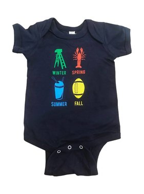 NOLA Seasons Onesie