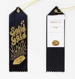 Solid Gold Award Ribbon