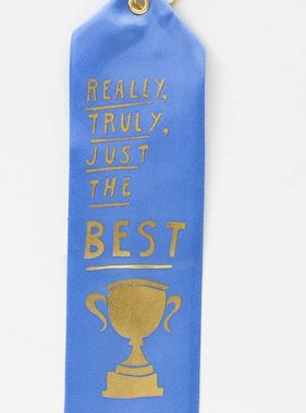 Just the Best Award Ribbon