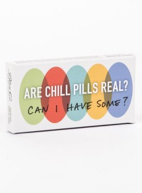 Blue Q Chill Pills Gum