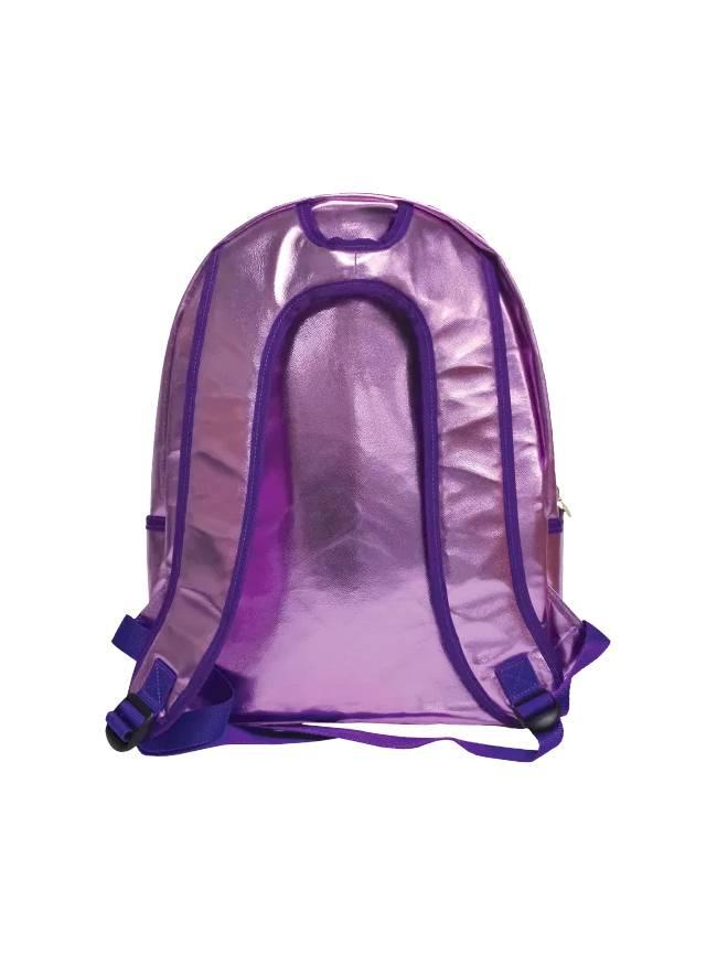 Iridescent Reversible Sequin Backpack