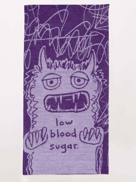 Blue Q Towel, BQ, Low Blood Sugar