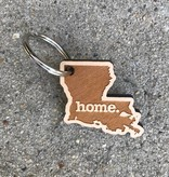 Louisiana Home Keychain