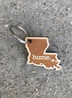 Louisiana Home Keychain