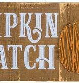 Pumpkin Patch Yarn Art