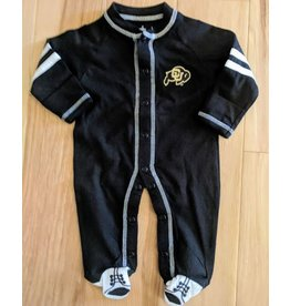 CU SPORTS SHOE FOOTED ROMPER