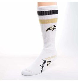 FOR BARE FEET STRIPE WHITE RALPHIE SOCK
