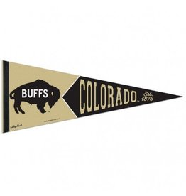 "COLORADO BUFFS VAULT PENNANT 12"" X 30"""