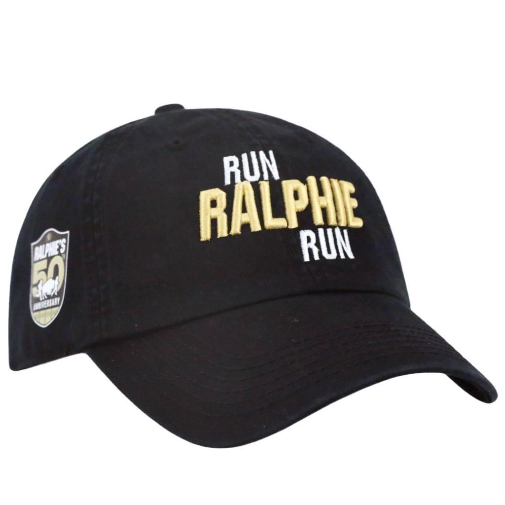 TOP OF THE WORLD RUN RALPHIE RUN BLACK HAT